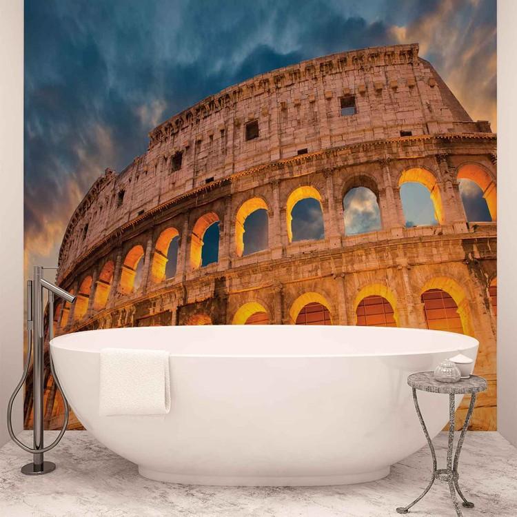 Papel de parede Colosseum City Sunset