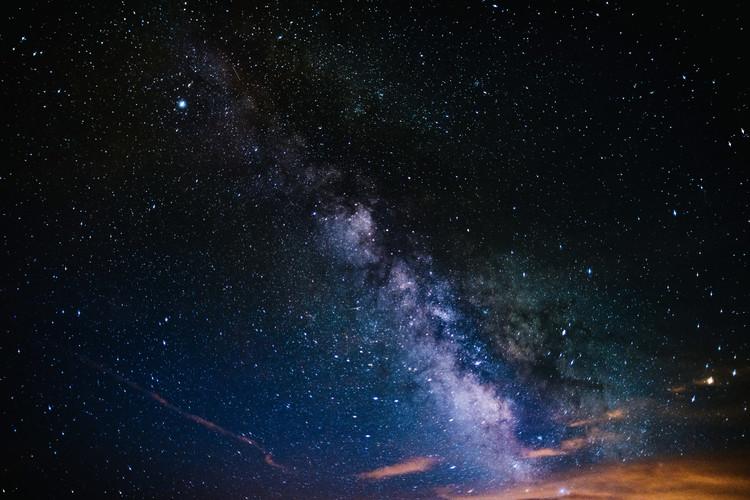 Papel de parede Details of Milky Way of St-Maria multicolour graded