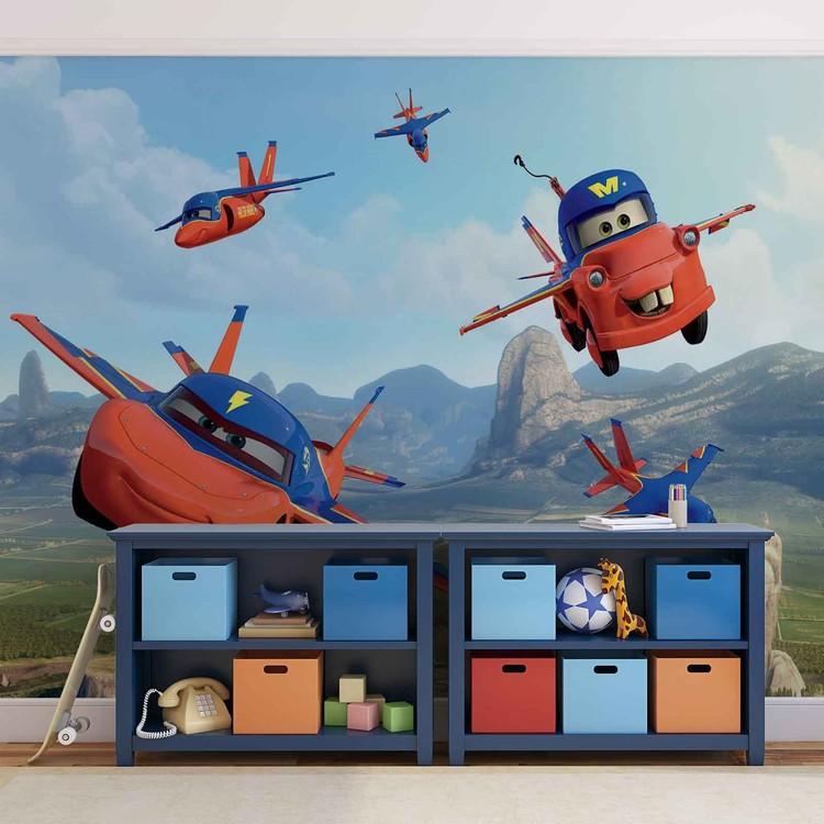 Papel de parede  Disney Cars Planes Air Mater
