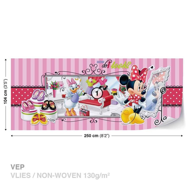 Papel de parede  Disney Minnie Mouse Daisy Duck