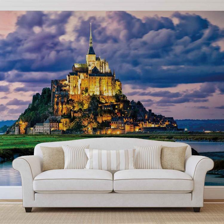 Papel de parede France Mont Saint Michel