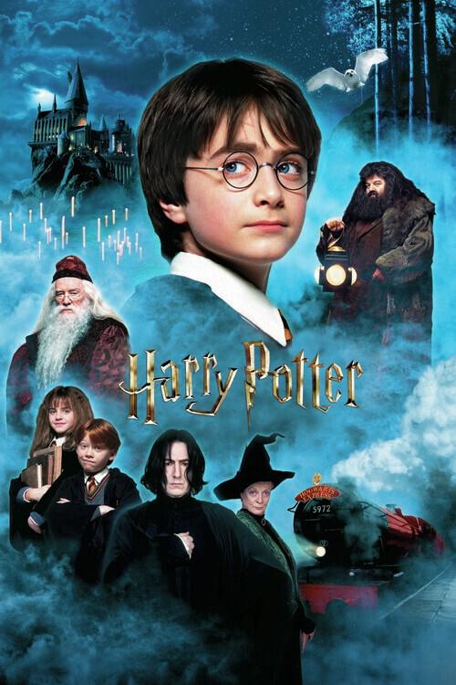 Murais de parede Harry Potter - A Pedra Filosofal