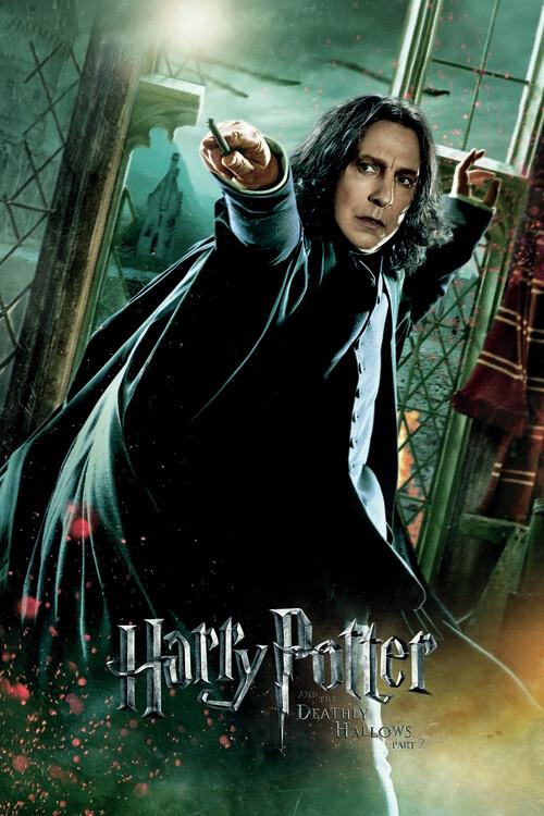 Murais de parede Harry Potter - Os Talismãs da Morte - Snape