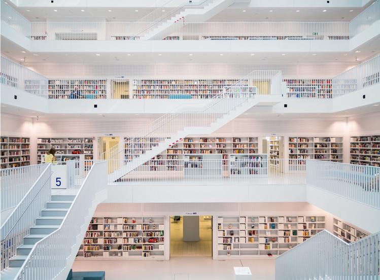 Decoração de parede Library - White