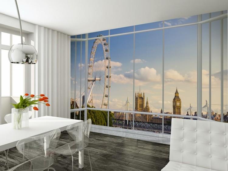 Papel de parede London - Window