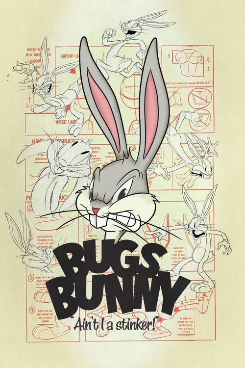 Papel de parede Looney Tunes - Bugs Bunny