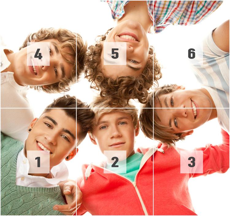 Papel de parede One Direction - Circle