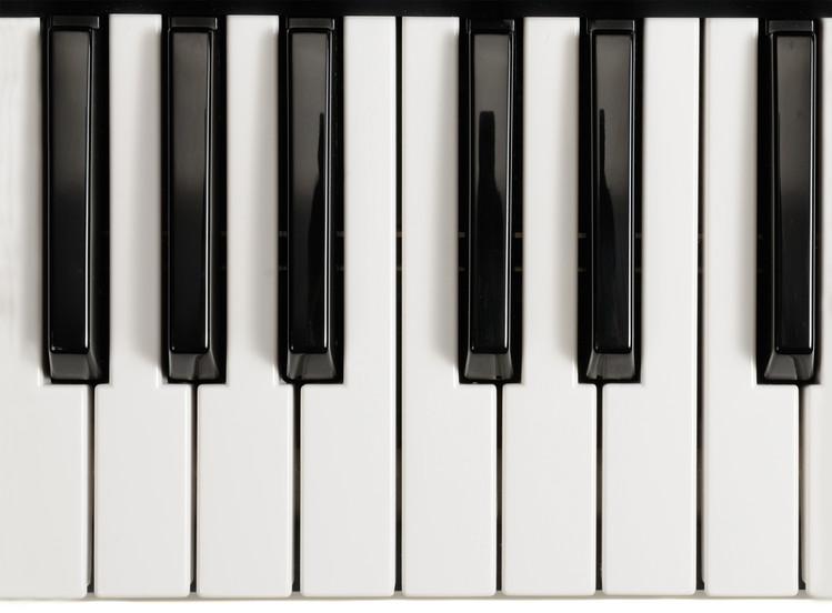 Decoração de parede Piano - Keys