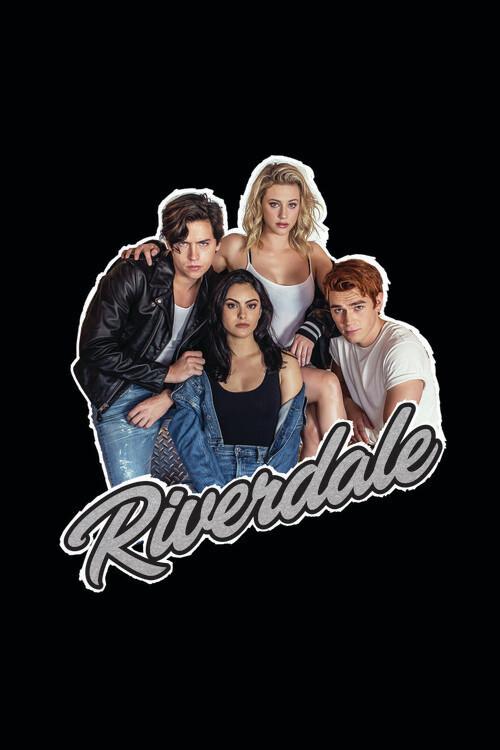 Murais de parede Riverdale - Personagens principais