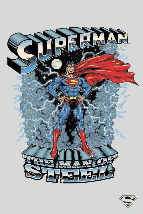 Murais de parede Superman - The man of steel