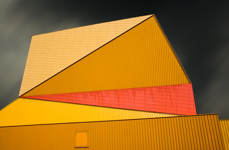 Papel de parede The yellow roof