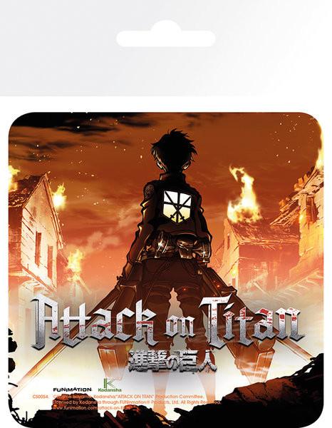 Attack On Titan (Shingeki no kyojin) - Keyart Dessous de Verre
