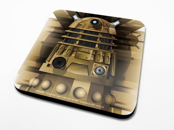 Doctor Who - Dalek Dessous de Verre