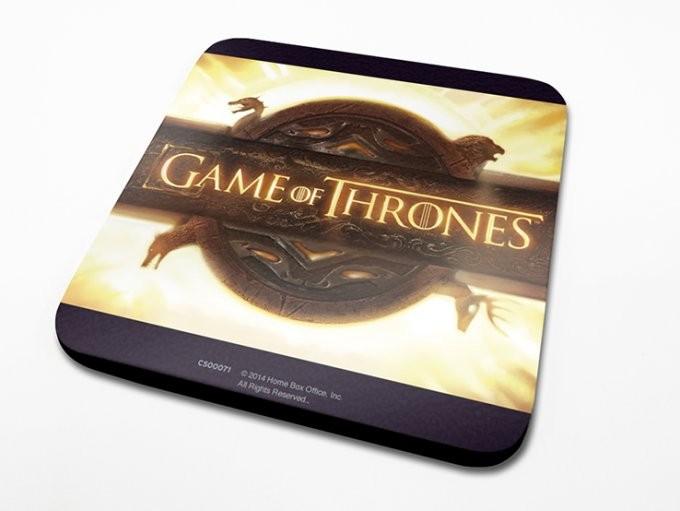 Game of Thrones - Opening Logo Dessous de Verre