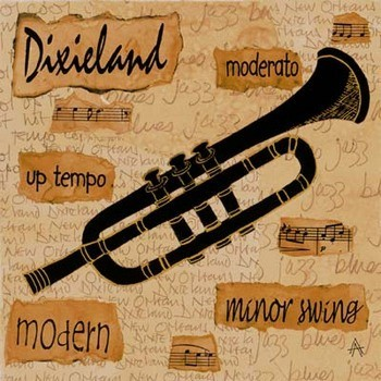 Dixieland Sound Reproduction d'art