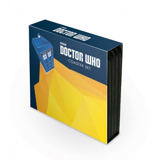 Doctor Who - 4 coaster set