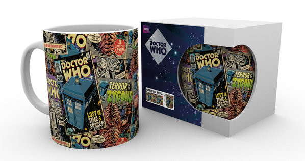 Cup Doctor Who - Comic Books