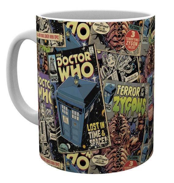 Mug Doctor Who - Comic Books