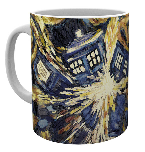 Cup Doctor Who - Exploding Tardis