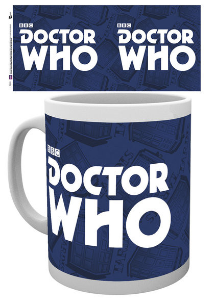 Cup Doctor Who - Logo