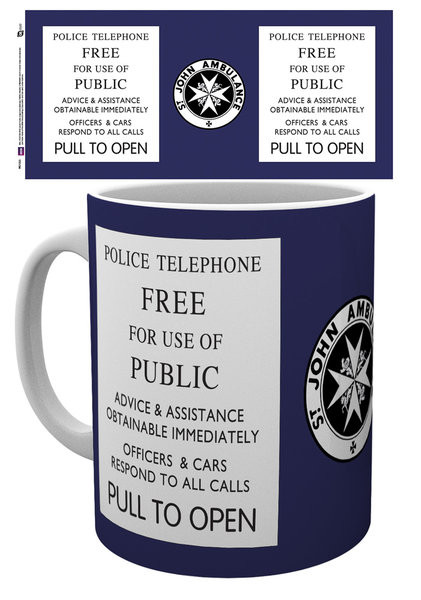 Mug Doctor Who - Tardis Sign