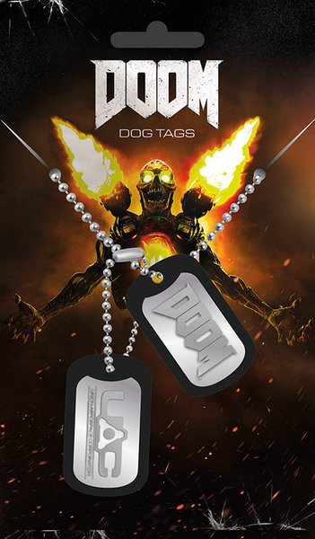 Dog tag  Doom - UAC