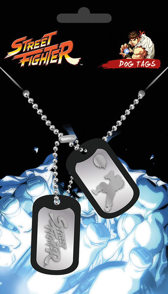 Street Fighter Fight Dog Tags Posters Wall Art Sold At