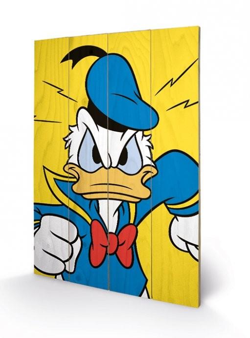 Donald Duck - Mad Panneaux en Bois