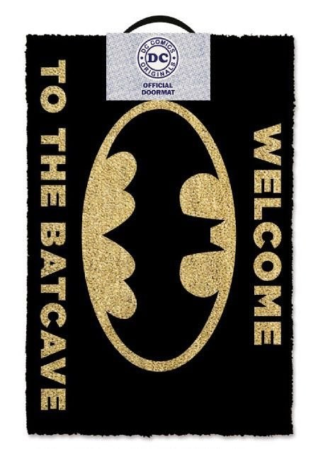 Doormat Batman - Welcome To The Batcave