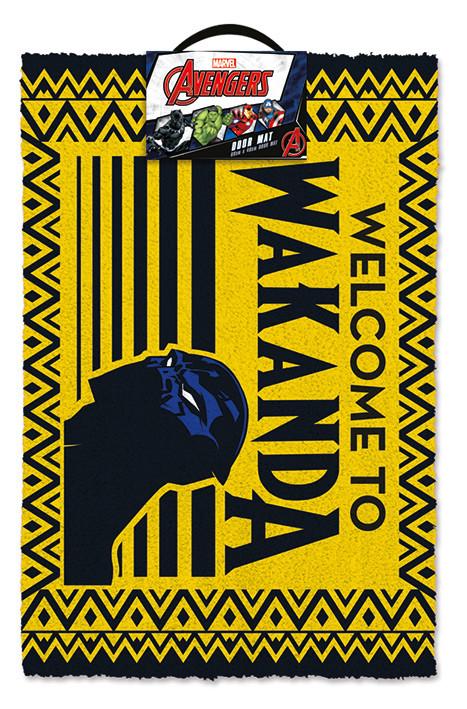 Doormat Black Panther - Welcome to Wakanda