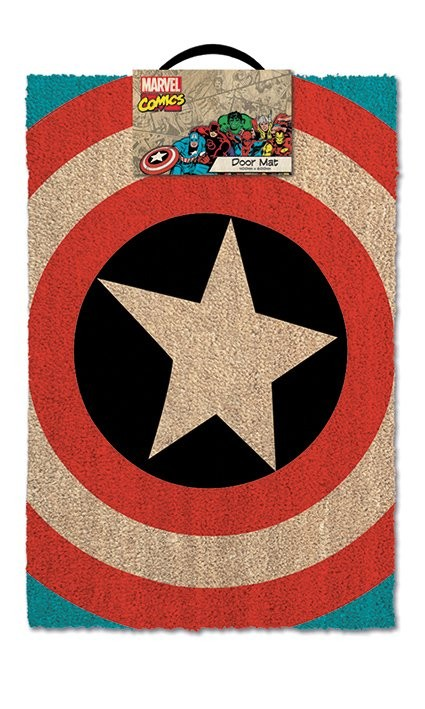 Doormat Captain America - Shield
