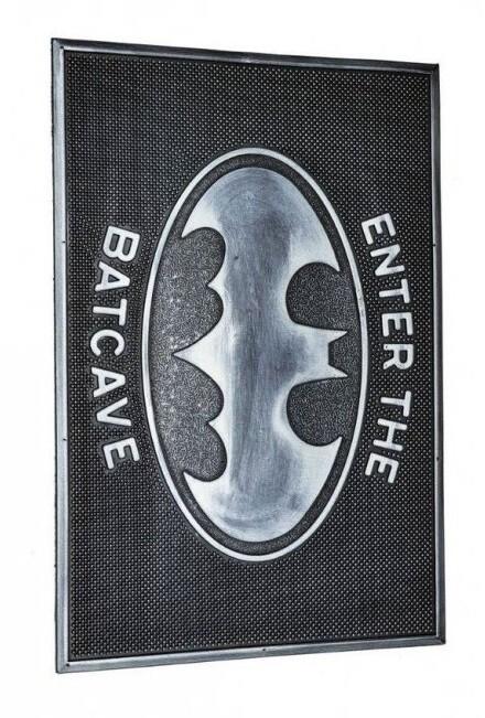 Doormat DC - Batcave (Rubber)