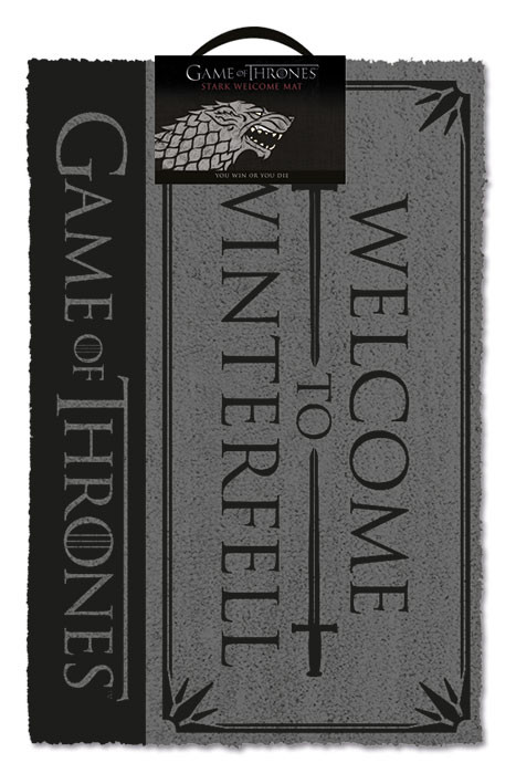 Doormat  Game Of Thrones - Welcome to Winterfell