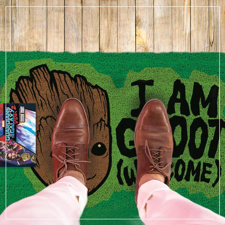 Doormat Guardians Of The Galaxy Vol. 2 - I AM GROOT - Welcome