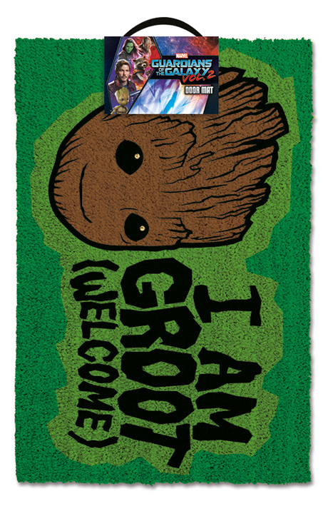 Doormat  Guardians Of The Galaxy Vol. 2 - I AM GROOT - Welcome