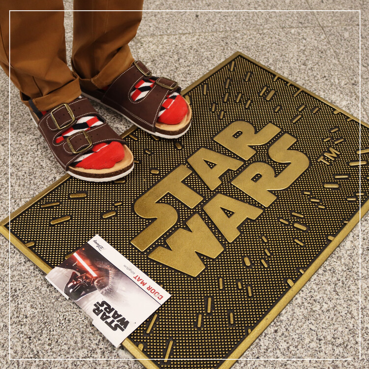 Doormat Star Wars - The Logo (Rubber)