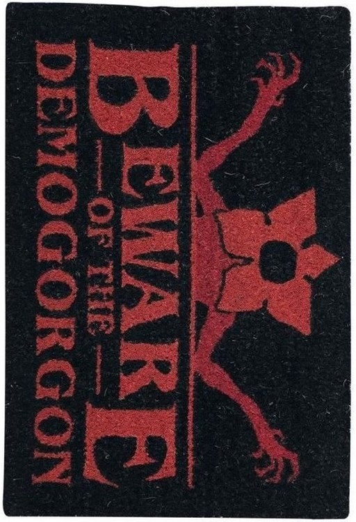 Doormat Stranger Things - Beware Of The Demogorgon