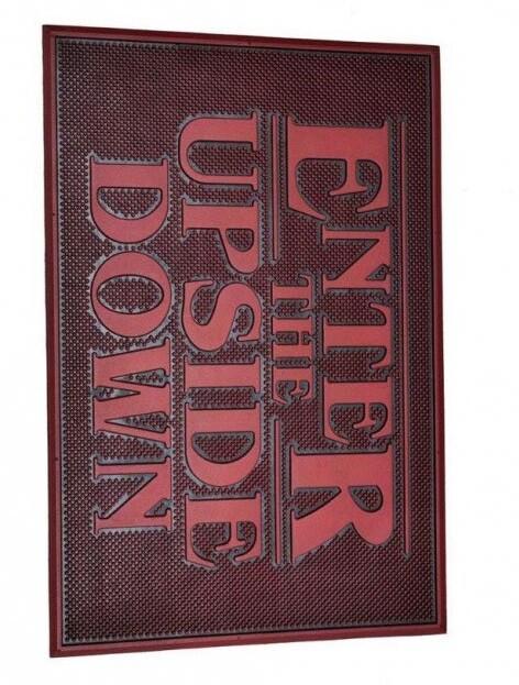 Doormat Stranger Things - Upside Down (Rubber)