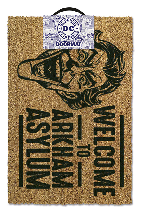Doormat The Joker - Welcome To Arkham Asylum