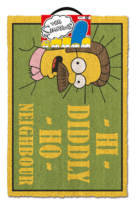 Doormat The Simpsons - Hi Diddly Ho Neighbour