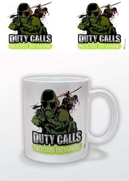 Mug Duty Calls