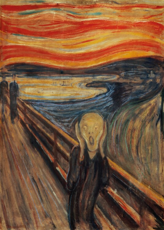Puzzle Edvard Munch - The Scream