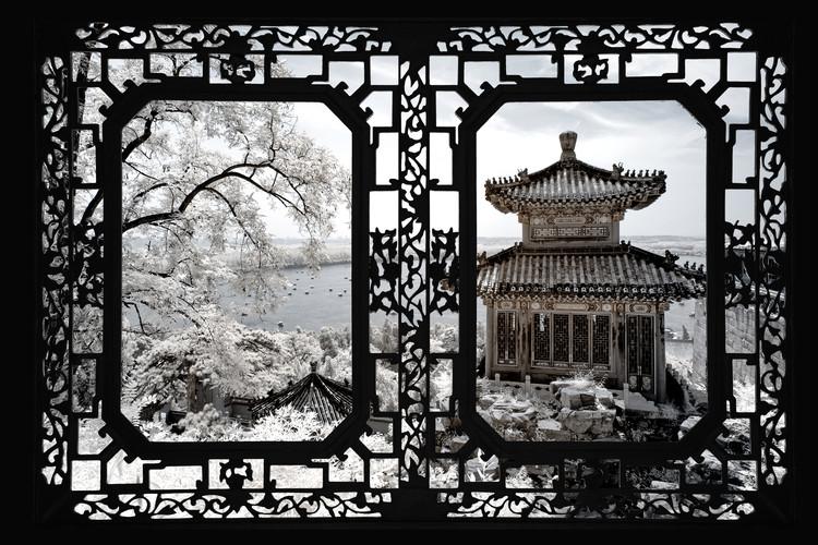 Eksklusiiviset taidevalokuvat Asian Window - Summer Palace