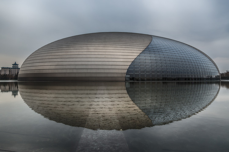 Eksklusiiviset taidevalokuvat Beijing - National Grand Theatre