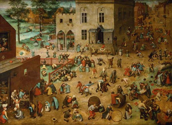 Children's Games, 1560 Taidejuliste