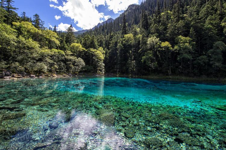 Eksklusiiviset taidevalokuvat China 10MKm2 Collection - Beauty of Jiuzhaigou