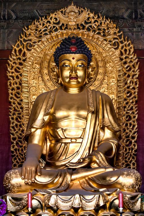 Eksklusiiviset taidevalokuvat China 10MKm2 Collection - Buddha