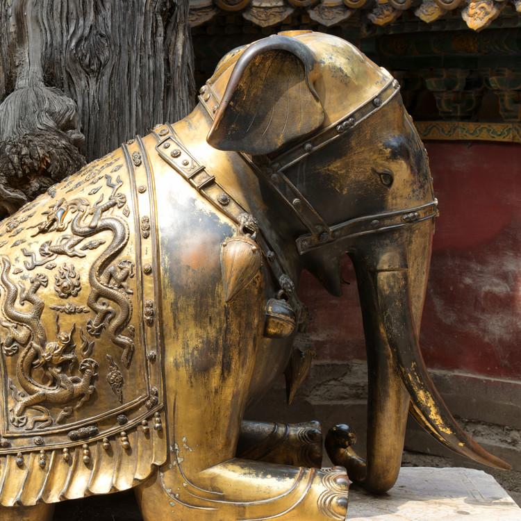 Eksklusiiviset taidevalokuvat China 10MKm2 Collection - Elephant Buddha