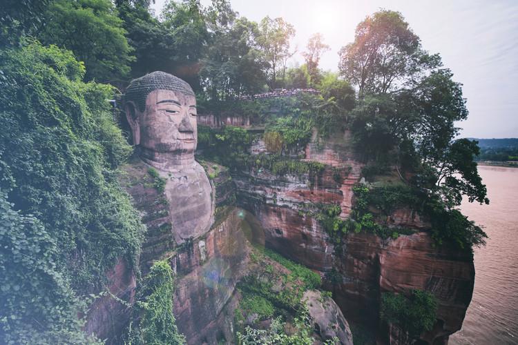 Eksklusiiviset taidevalokuvat China 10MKm2 Collection - Giant Buddha of Leshan