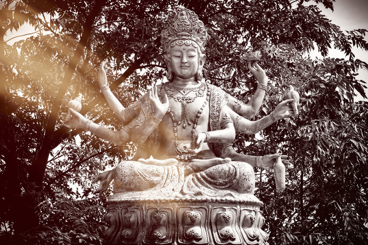 Eksklusiiviset taidevalokuvat China 10MKm2 Collection - Serenity Buddha